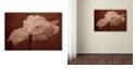 "Trademark Global Cora Niele 'White Poppy' Canvas Art, 16"" x 24"""