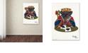 """Trademark Global Jenny Newland 'Jack Of Spades' Canvas Art, 14"""" x 19"""""""