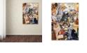 "Trademark Global Jenny Newland 'Kitty Bakery' Canvas Art, 24"" x 32"""