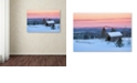"Trademark Global Michael Blanchette Photography 'Bridge on a Hill' Canvas Art, 12"" x 19"""