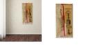 "Trademark Global Nick Bantock 'Locks Env' Canvas Art, 12"" x 24"""