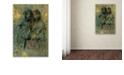 "Trademark Global Nick Bantock 'Mauresque Sisters' Canvas Art, 12"" x 19"""