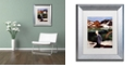 "Trademark Global Nick Bantock 'Wicklow' Matted Framed Art, 11"" x 14"""