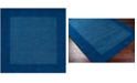 Surya Mystique M-308 Dark Blue 6' Square Area Rug