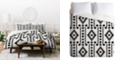 Deny Designs Holli Zollinger Geo Panel White Twin Duvet Set