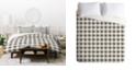 Deny Designs Holli Zollinger Anthology Of Pattern Seville Gingham Black Twin Duvet Set
