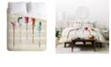 Deny Designs Iveta Abolina Feathered Arrows King Duvet Set