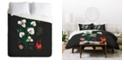 Deny Designs Holli Zollinger Desert Botanical Sego Lily Queen Duvet Set