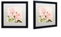 "Trademark Global Color Bakery 'Florabella Iii' Matted Framed Art, 16"" x 16"""