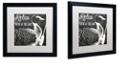 "Trademark Global Color Bakery 'Lake House Iv' Matted Framed Art, 16"" x 16"""