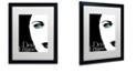 "Trademark Global Color Bakery 'Femme Den Ii' Matted Framed Art, 16"" x 20"""