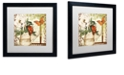"Trademark Global Color Bakery 'Vermont Summer Iii' Matted Framed Art, 16"" x 16"""