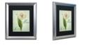 "Trademark Global Color Bakery 'Allium Ii' Matted Framed Art, 16"" x 20"""