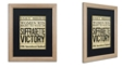 """Trademark Global Color Bakery 'Women's Right To Vote' Matted Framed Art, 16"""" x 20"""""""