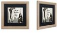 "Trademark Global Color Bakery 'New York Style I' Matted Framed Art, 16"" x 16"""