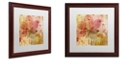 """Trademark Global Color Bakery 'October Pastel I' Matted Framed Art, 16"""" x 16"""""""