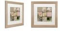 "Trademark Global Color Bakery 'Viva La Paris Ii' Matted Framed Art, 16"" x 16"""