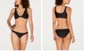 Body Glove Juniors' Knot-Front Bikini Top & Strappy Bottoms