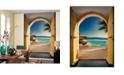 Brewster Home Fashions Santorini Wall Mural