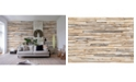 Brewster Home Fashions Whitewashed Wood Wall Mural