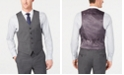Lauren Ralph Lauren Men's Classic-Fit UltraFlex Stretch Gray Sharkskin Suit Vest