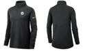 Nike Women's Pittsburgh Steelers Half-Zip Core Element Pullover