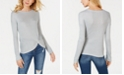 INC International Concepts I.N.C. Long-Sleeve Shine Twist Front Top, Created for Macy's
