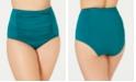 Becca ETC Plus Size Color Code High-Waist Swim Bottoms