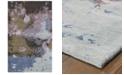 """Oriental Weavers Galaxy 21901 Blue/Purple 3'6"""" x 5'6"""" Area Rug"""