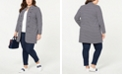 Tommy Hilfiger Plus Size Long Band Jacket