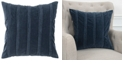 "Rizzy Home Solid 22"" x 22"" Down Filled Pillow"