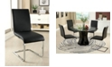 Furniture of America Tayah Leather Dining Chair