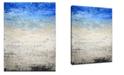 "Ready2HangArt 'Imprint II' Canvas Wall Art, 30x20"""