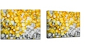 """Ready2HangArt 'Lake Yellow' Canvas Wall Art, 20x30"""""""