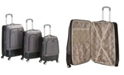 Rockland Milan 3-Pc. Hardside Luggage Set