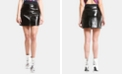ARTISTIX Faux-Leather Skirt