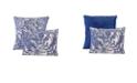 Epoch Hometex inc Valentina 2-Piece Flowers and Doodles Decorative Pillow Set