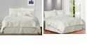 Cottonloft Pintuck Plush 7-PC Complete Comforter Set