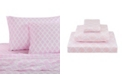 Levtex Home Pink Damask Twin Sheet Set
