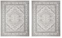 Safavieh Adirondack Ivory and Navy 8' x 10' Area Rug