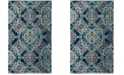 Safavieh Evoke Royal and Light Blue 3' x 5' Area Rug