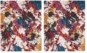 Safavieh Gypsy Ivory and Blue 8' x 10' Area Rug