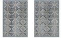 Safavieh Linden Blue and Creme 4' x 6' Area Rug