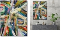 """Courtside Market Abstract Colors Gallery-Wrapped Canvas Wall Art - 18"""" x 24"""""""