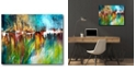 """Courtside Market Frontier Gallery-Wrapped Canvas Wall Art - 16"""" x 20"""""""