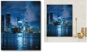 """Courtside Market City Reflexiones Gallery-Wrapped Canvas Wall Art - 16"""" x 20"""""""