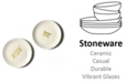Coton Colors by Laura Johnson Mr. and Mrs.  Dessert Plates  Set/2