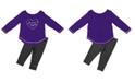Colosseum LSU Tigers Legging Set, Infants (12 months)