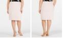 Nine West Plus Size Slim Stretch Skirt