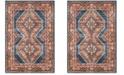 Safavieh Bijar Royal and Rust 9' x 12' Area Rug